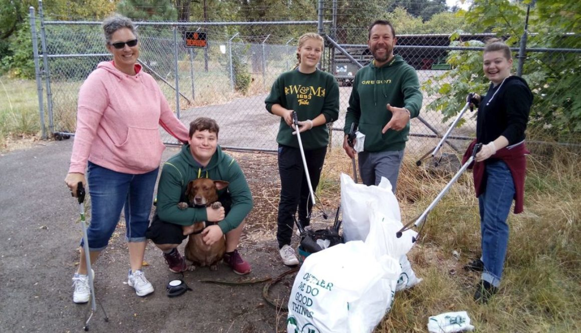 Alton Baker Park Cleanup Sep 2018